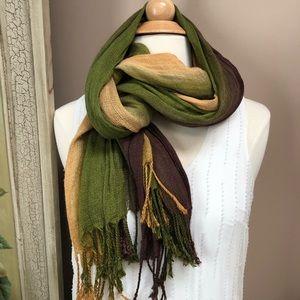 Multi color Pashmina scarf